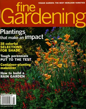 Fine Gardening, Oct. 2012