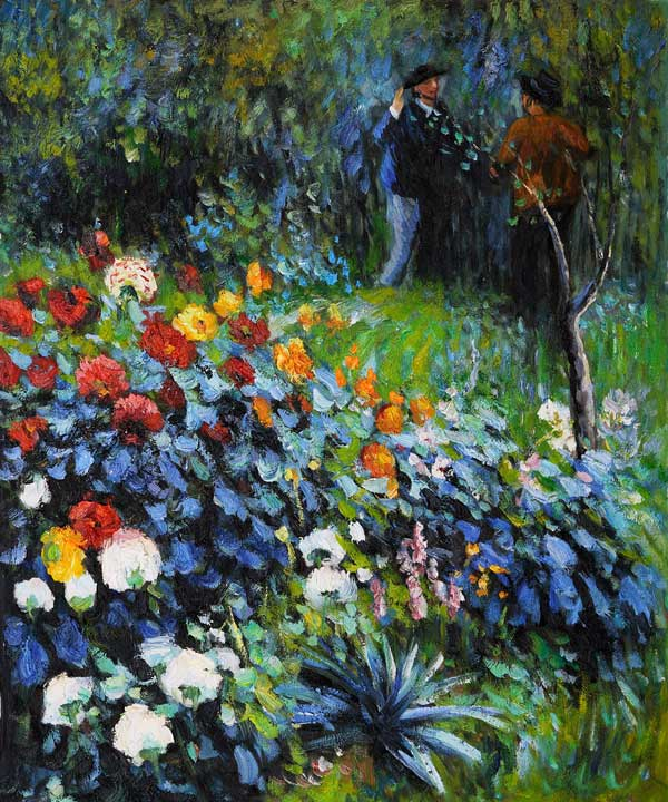 "Renoir and the ""Magnificent Red Dahlias"" – www.OldHouseGardens.com"
