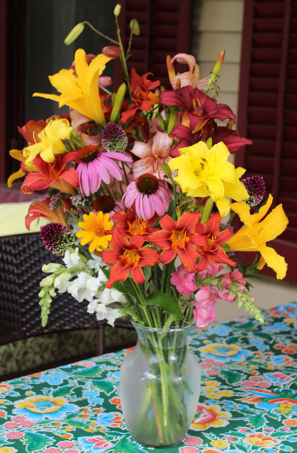 Daylilies in Bouquets? Definitely! –