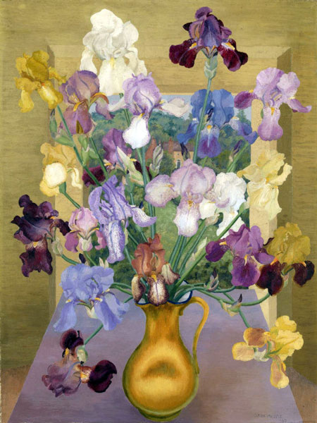 Iris by an Artist: The Living Masterpieces of Cedric Morris &ndahs; www.OldHouseGardens.com